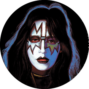 KISS Ace Frehley Button, merchandise, t-shirts, memorabilia, tees ...